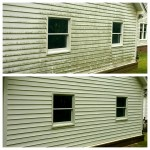 Pressure Washing House Siding