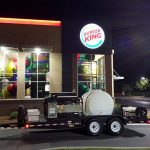 Burger King Restaurant Exterior Cleaning