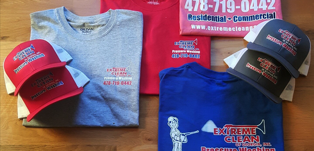 Extreme Clean T-Shirts and Hats