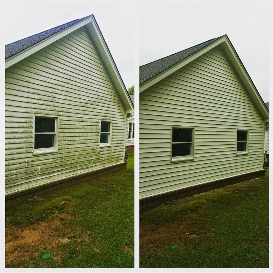 Residential Pressure Washing In Macon Middle Georgia