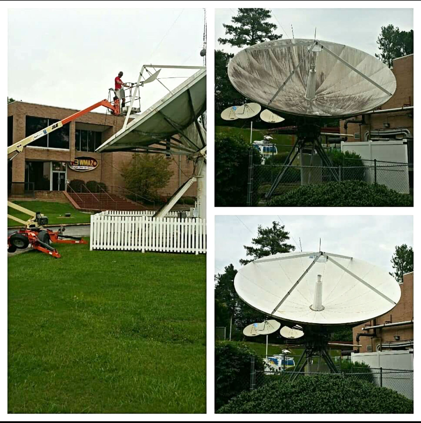 Commercial Satellite Dish Cleaning Extreme Clean Of Georgia