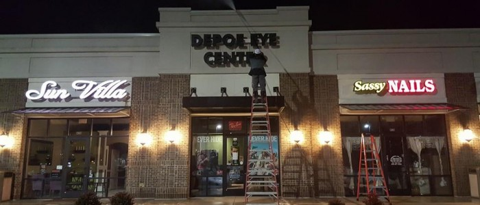 Shopping Center Cleaning Macon GA